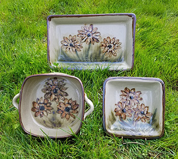 Sunflower Three Dishes